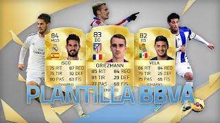 FIFA 16 | PLANTILLA BARATA BBVA | Ultimate Team | DjMaRiiO