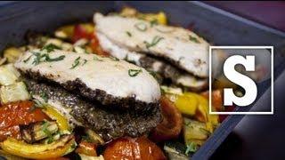 Ratatouille & Tapenade Chicken Recipe - Sorted