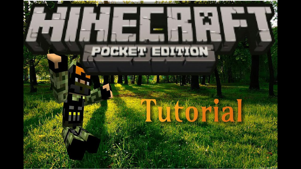 MCPE Tutorial Wie Füge Ich Maps In MCPE Ein Tutorial Minecraft - Wie downloade ich maps fur minecraft