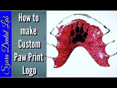 How to Add Custom logo to your Orthodontic retainer