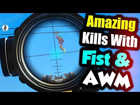 Amazing Gameplay With Kar98k And Fist | Funny Gameplay - Garena Free Fire | P.K. GAMERS