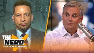 KD should \'bolt\' from Warriors if they win a title without him - Chris Broussard | NBA | THE HERD