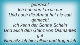 Rosenstolz - Ich Stell Mich An Die NГѓВ¤chste Wand (Monotonie) Lyrics