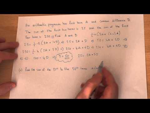 Arithmetic Sequences : Solving Problems Involving Arithmetic Progressions