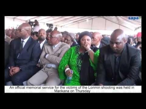 Marikana mourns miners