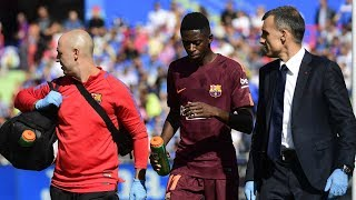 FC Barcelona Injury Update - ft Ousmane Dembele
