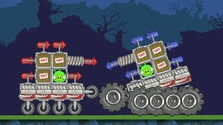 Bad Piggies - CUSTOM WHEEL EXPERIMENT! (Field of Dreams)