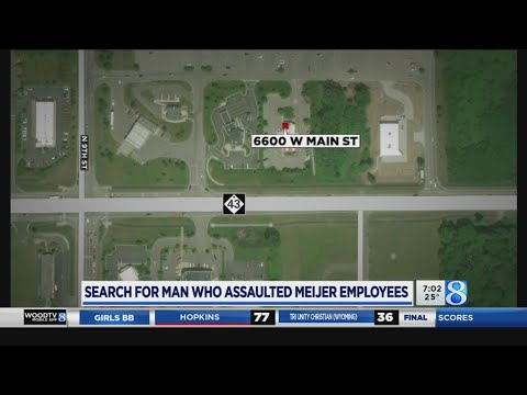 Suspect Sought In Kzoo Co. Meijer Assault
