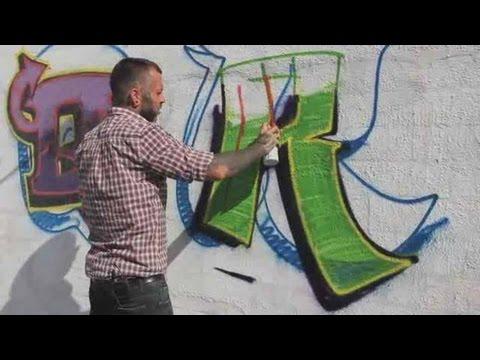 How to Draw an R | Graffiti