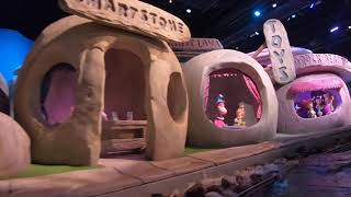The Flintstones Bedrock River Adventure at Warner Bros World Abu Dhabi