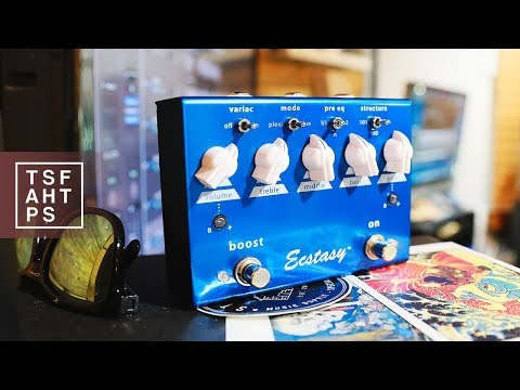 Bogner Ecstasy Blue - one of the BEST Overdrives available