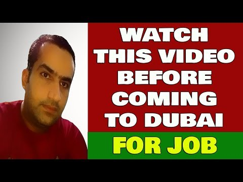 Watch This Video Before Coming To Dubai For Jobs Reality Of Recruiting Agencies