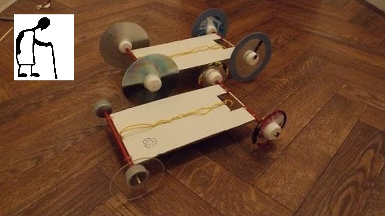 Car Powered Rubber Band Project