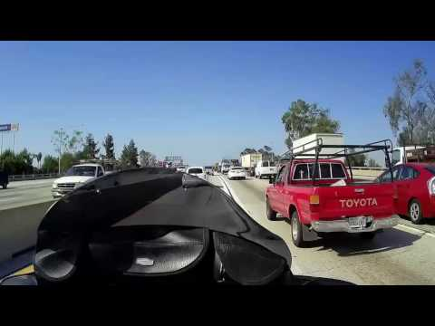 Time lapse Chino Hills to Venice commute