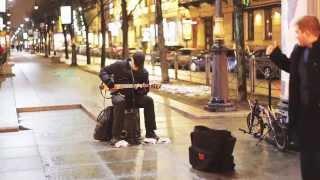 �������� ���� Кино: Красно-жёлтые дни (Гитарист на Невском) ������