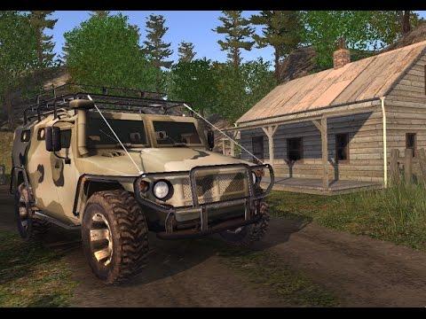 4x4 SUvs in the backwoods  - 4х4 Внедорожники в глуши  (Gameplay Trailer)