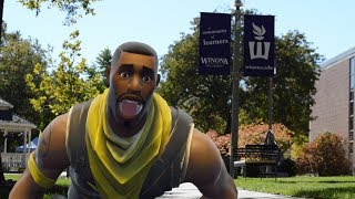 Fortnite Skin Va à l'université