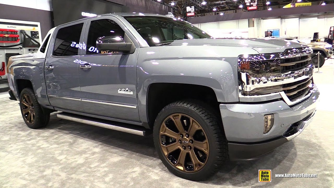 2017 Chevrolet Silverado 1500 High Desert Concept - Walkaround - 2016 SEMA Las Vegas - YouTube