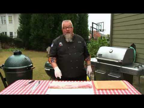 how to cut a half pork loin