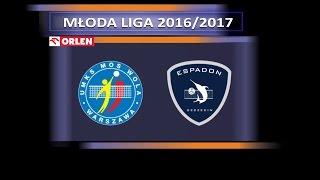 MŁODA LIGA 2017: FINAŁ - mecz o 3 miejsce MOS Wola Warszawa - Espadon Szczecin