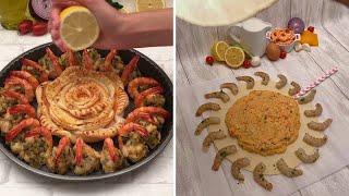 Shrimp Recipes for All  Stuffed Shrimp  Flamin&#39 Hot Cheetos Fried Shrimp  Shrimp Scampi Bowls