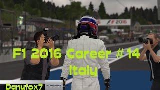 F1 2016 CAREER PART 14 Italy! - McLaren - DOUBLE?!