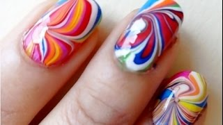 3 Easy and Gorgeous Water Marble Nail Designs You Must Try
