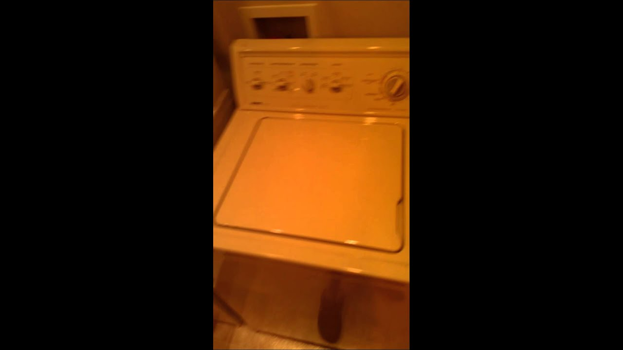 Kenmore 80 series washer won't spin. - YouTube