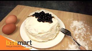 BÁNH CREPE TRÀ SỮA TRÂN CHÂU ĐƯỜNG ĐEN - BUBBLE MILK TEA CREPE CAKE | BEEMART