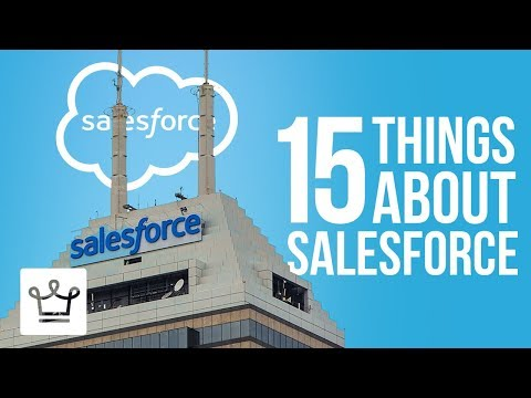 15 Things You Didn't Know About SALESFORCE