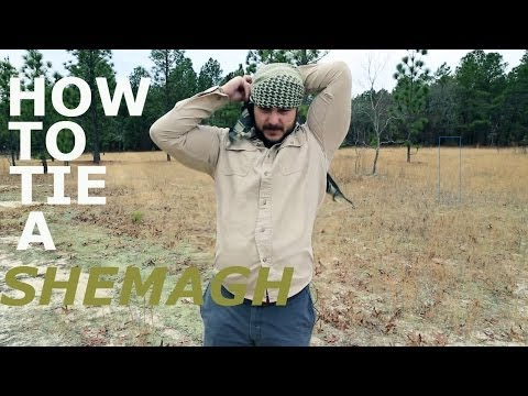 Black Scout Quick Tips – How to Tie a Shemagh