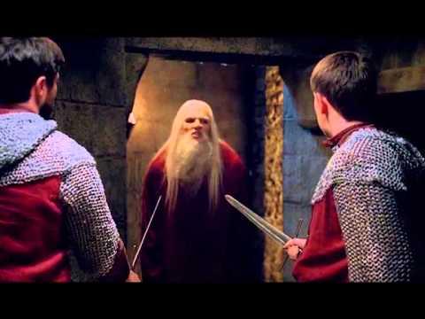 Merlin Season 5 Episode 7 Emrys Scene