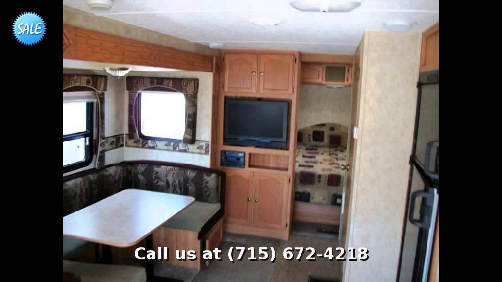 2008 Keystone Springdale 266RLSSR, Travel Trailer Rear ...