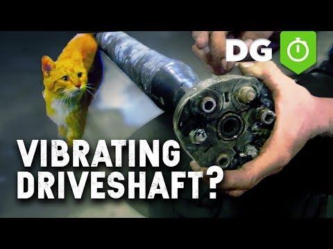 Fix Vibrations in Drive Shaft