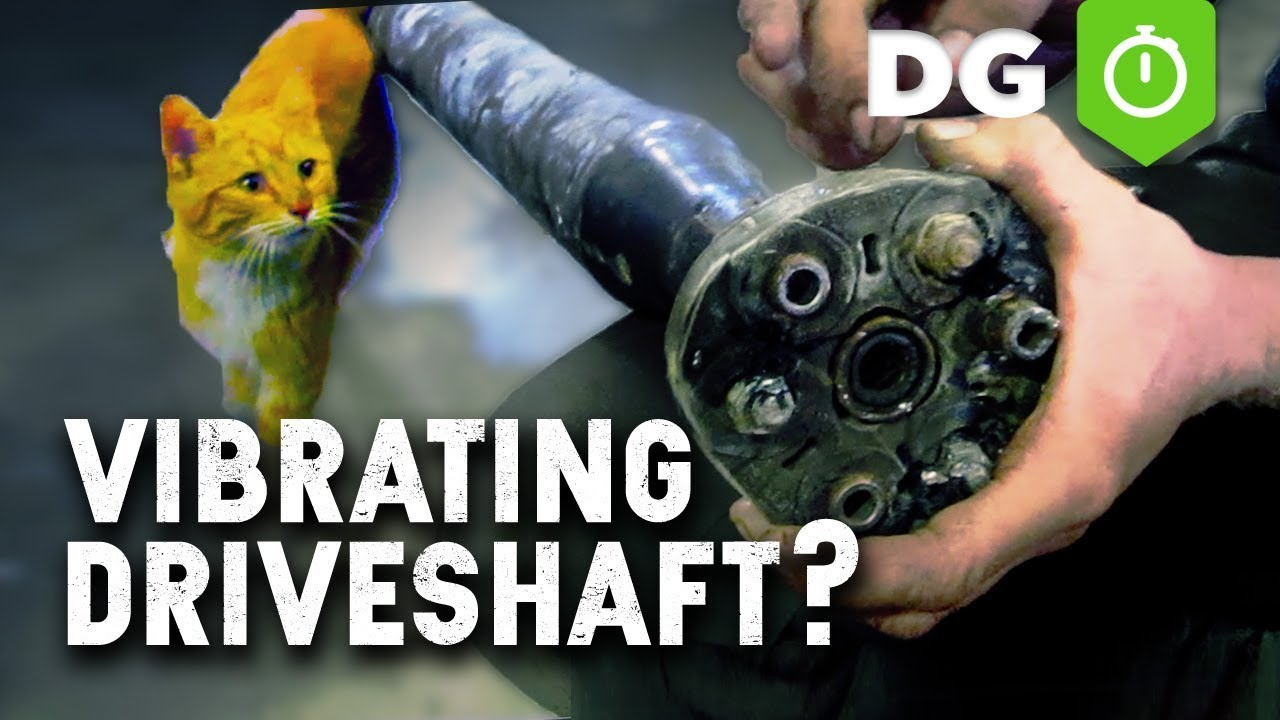 fix vibrations in drive shaft [ 1280 x 720 Pixel ]