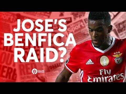Jose Mourinho's Benfica Raid? Tomorrow's Manchester United Transfer News Today! #15