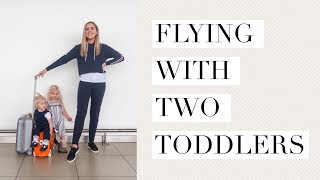 FLYING WITH TWO TODDLERS/ COME TO THE AIRPORT WITH US/ TRAVELLING WITH KIDS/ HOLIDAY VLOG