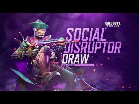 Call of Duty®: Mobile - Social Disruptor Draw