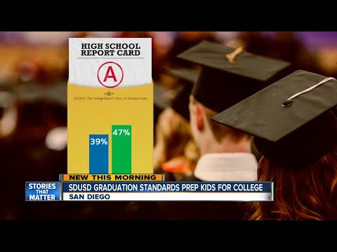 SDUSD graduation standards help grads stand out