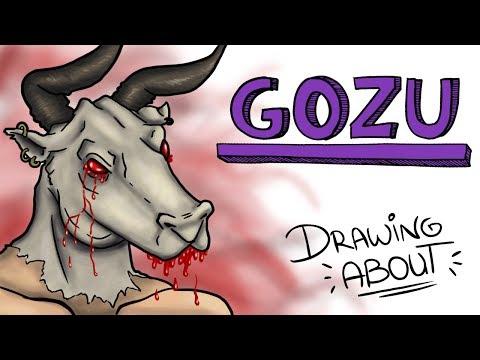 GOZU LA LEYENDA JAPONESA DEL CABEZA DE VACA | Draw My Life