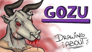 gozu la leyenda japonesa del cabeza de vaca   draw my life