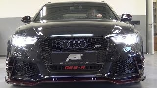 ABT Audi RS6-R - DETAILS & START UP SOUND!