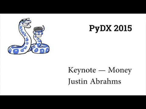 Image from PyDX 2015: Keynote — Money