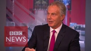 Tony Blair: Anti-Islamic State action in Syria 'inevitable' BBC News