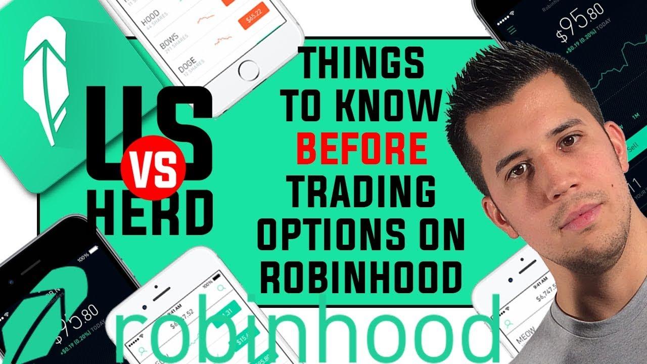 Can i trade options on robinhood