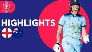 Download England vs New Zealand - Match Highlights | ICC Cricket World Cup 2019 Mp3 and Videos