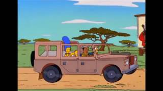 Die Simpsons - Simpsons in Afrika (Beste Szenen #57/Teil 1) [Deutsch/German]