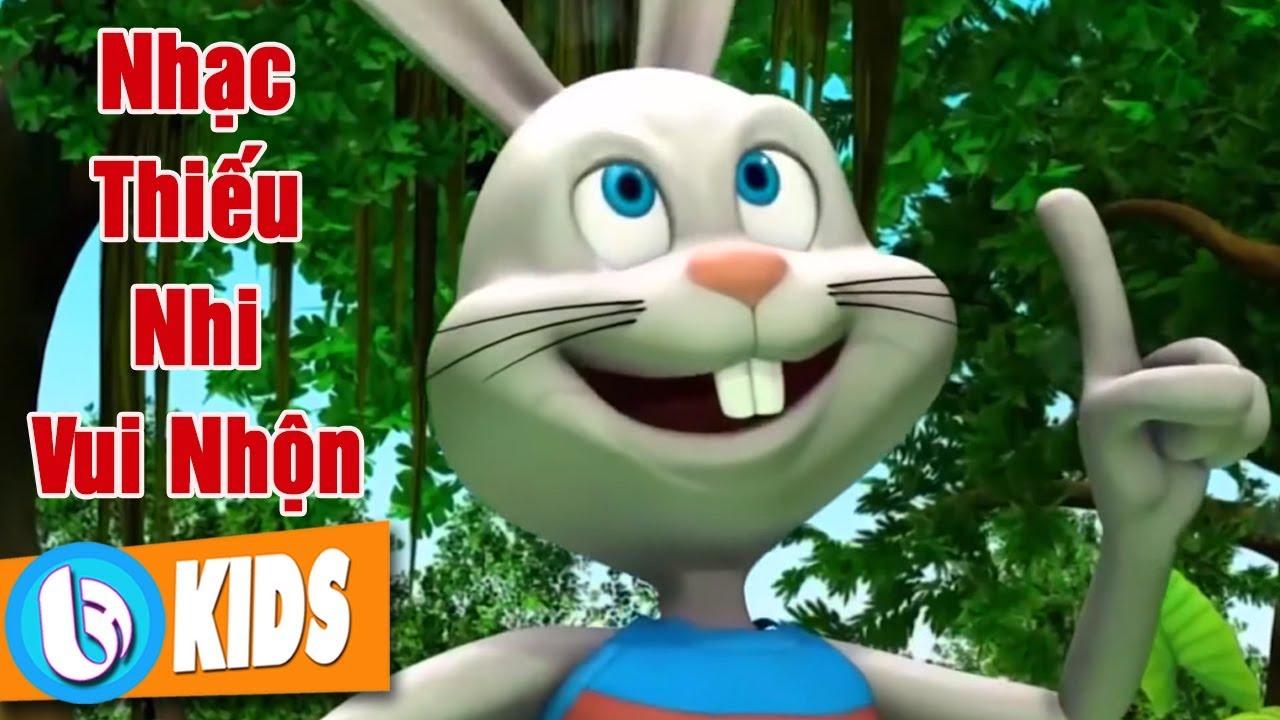 Thỏ Con Tinh Nghịch – Nhạc Thiếu Nhi Hoạt Hình Sôi Động Hay Nhất