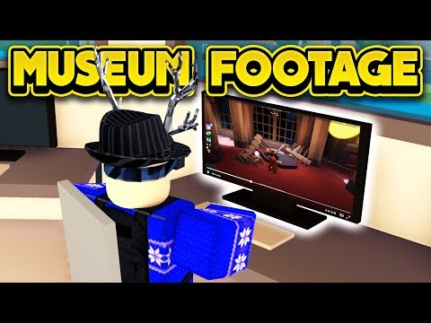 NEW MUSEUM ROBBERY FOOTAGE & MORE! (ROBLOX Jailbreak)