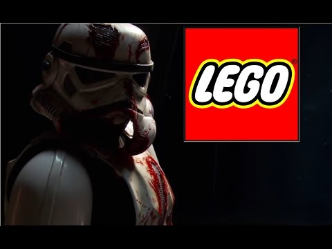 How to make a LEGO Death Trooper from the Death Troopers novel